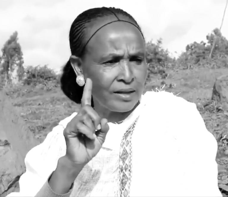 Tigrayan woman