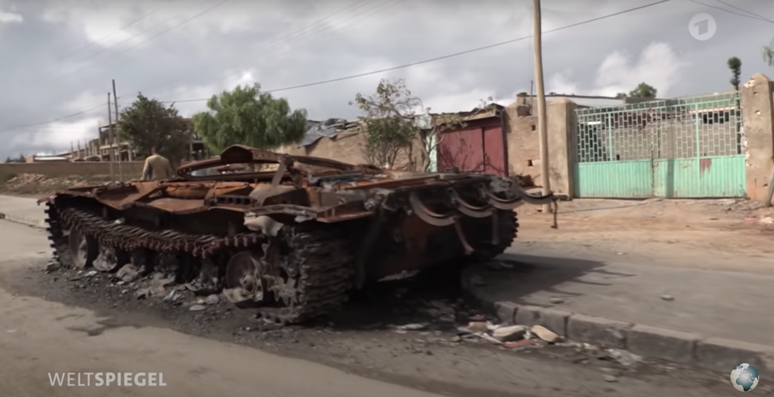 A German TV travels through a war zone: Tigray, not arriving at peace